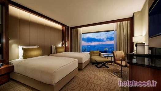 Twin Deluxe Bosphorus View Room.