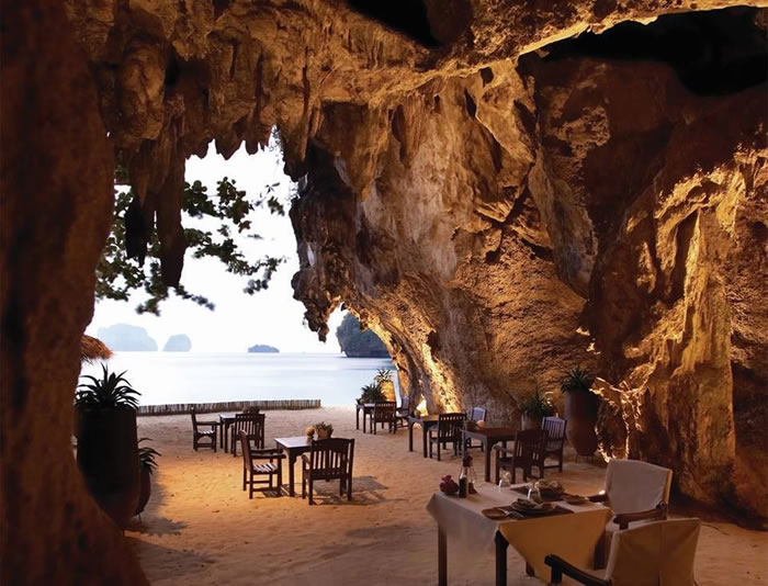 Cave-Restaurant-Thailand-Places-To-Travel-Before-You-Die-
