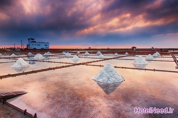 مزرعه نمک Taepyeong