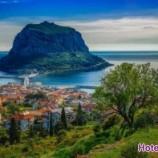 شهر تاریخی Monemvasia جزیره سنگی یونان