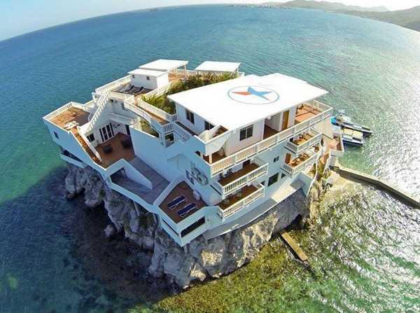 هتل لوکس جهان هتل زیبا جهانگردی توریستی هندوراس