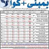 تورهندوستان بمبئی -گوا پرواز ایران ایر پاییز ۹۴