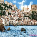 اسکیلا دهکده ماهیگیری کارت پستالی ایتالیا
