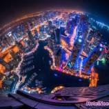 تصاویر شب زیبای دبی