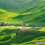 تصاویر روستایی توسکانی در سفر به ایتالیا