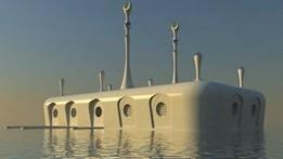ساخت مسجد شناور در امارات